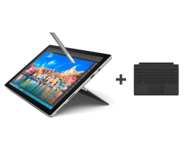 Microsoft Surface PRO 4 i7-6650U/8GB/256/Win10+Klawiatura  (CQ9-00004+QC7-00094)