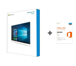 Microsoft Windows 10 Home BOX USB + Office 365 Personal  (KW9-00250 +  QQ2-00535 )