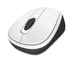 Microsoft Wireless Mobile Mouse 3500 Biała (GMF-00196)