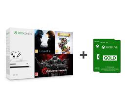 Microsoft Xbox One 500GB + Halo 5 + Rare Replay + GoW + 6M (ZQ9-00012)