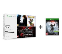 Microsoft Xbox One 500GB + Halo 5 + Rare Replay + GoW + TR (ZQ9-00012)