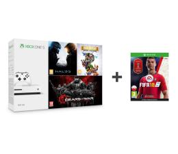 Microsoft Xbox One 500GB+Halo 5+Rare Replay+GoW+Fifa18 (ZQ9-00012)