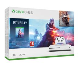 Microsoft Xbox One S 1 Tb+BFV+Battlefield 1942+ EA Access (234-00688)