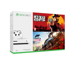 Microsoft Xbox One S 1 TB+Forza H4+Red Dead Redemption 2 (234-00561)
