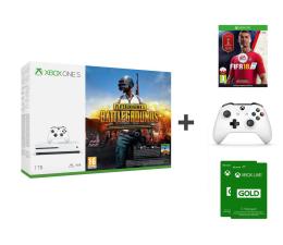Microsoft Xbox One S 1TB +PAD+FIFA18+PUBG+GOLD 6M