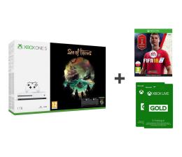 Microsoft Xbox One S 1TB+FIFA18+SoT+GOLD 6M