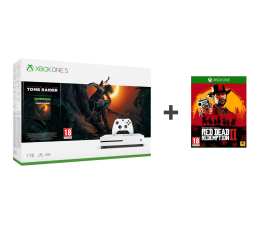 Microsoft Xbox One S 1TB + SotTR+Red Dead Redemption 2 (234-00783)