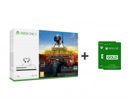Microsoft Xbox ONE S 1TB  PUBG + Live 6MSC (234-00310)