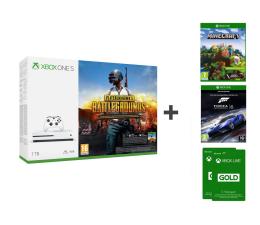Microsoft Xbox One S 1TB + PUBG+Minecraft Ex+FORZA 6+LIVE