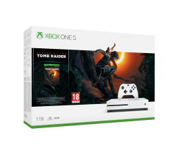 Microsoft Xbox One S 1TB Shadow of the Tomb Raider (234-00783)