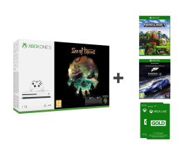 Microsoft Xbox One S 1TB + SoT+Minecraft Ex+FORZA 6+LIVE  (234-00310)