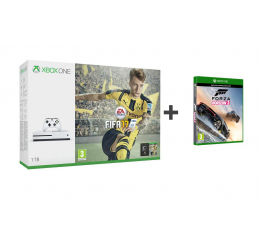 Microsoft Xbox ONE S 1TB+FIFA 17 +FORZA H3 +6M Gold (234-00032 )