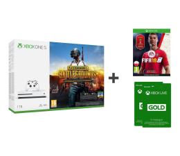 Microsoft Xbox One S 1TB+FIFA18+PUBG+GOLD 6M