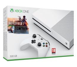 Microsoft Xbox ONE S 500GB + Battlefield 1 + 1M EA Access (ZQ9-00037)