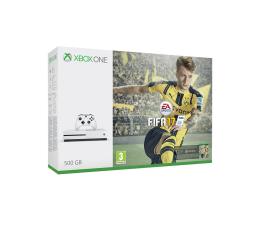 Microsoft Xbox ONE S 500GB + FIFA 17 + 1M EA + 6M Live GOLD (ZQ9-00056)