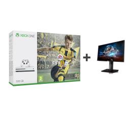 Microsoft Xbox ONE S 500GB + Fifa 17 + ASUS MG24UQ (ZQ9-00056 + MG24UQ)