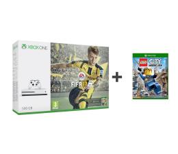 Microsoft Xbox ONE S 500GB + FIFA 17+Lego+1M EA+6M GOLD (ZQ9-00056)