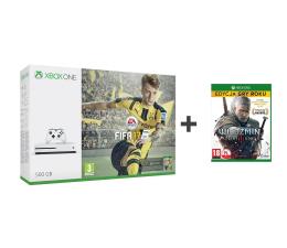 Microsoft Xbox ONE S 500GB+FIFA 17+Wiedźmin 3 GOTY+6M GOLD (ZQ9-00056)