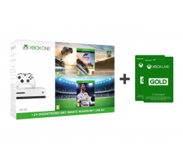 Microsoft Xbox ONE S 500GB+Horizon 3+ FIFA 18+ GOLD 6M (ZQ9-00211 )