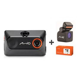 "Mio MiVue 785 Full HD/2,7""/140 + SmartBox + A20+ (369339+337625+371384)"