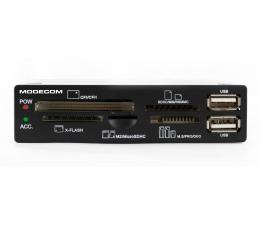 "MODECOM 3,5"" CR-108 All-in-One + 2x USB czarny (CR-108)"