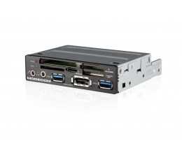 "MODECOM 3,5"" CR-110 All-in-One 2x USB 3.0 + eSATA czarny (CR-110)"