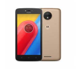 Motorola Moto C 1/16GB Dual SIM złoty (PA6L0082PL (XT1754))