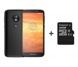 Motorola Moto E5 Play 16GB Dual SIM czarny + 16GB (PACR0011PL + SDCS/16GB)