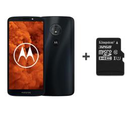 Motorola Moto G6 Play 3/32GB DS granatowy + etui + 32GB (PA9W0028PL / PA9W0052PL (XT1922) + SDCS/32GB)