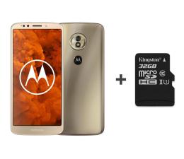 Motorola Moto G6 Play 3/32GB DS złoty + etui + 32GB (PA9W0026PL (XT1922) + SDCS/32GB)