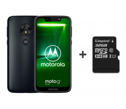 Motorola Moto G7 Play 2/32GB Dual SIM granatowy + 32GB (PAE70004PL (XT1952-1) + SDCS/32GB)