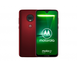 Motorola Moto G7 Plus 4/64GB Dual SIM czerwony + etui (PADU0018PL (XT1965-3))
