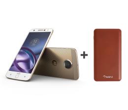 Motorola Moto Z LTE DS biały + Power Bank 10000mAh  (SM4389AD1U1 + PBL-02)