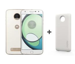 Motorola Moto Z Play biały + Moto Mods Incipio offGRID