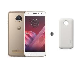 Motorola Moto Z2 Play LTE Dual SIM złoty+Moto Mods Incipio  (SM4483AJ1N7 + Moto Z ASMESPRWHTEU)