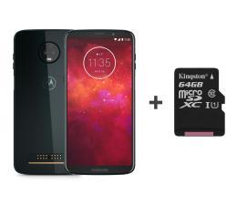 Motorola Moto Z3 Play 4/64GB DS granatowy +power pack +64GB (PABH0048PL (XT1929-8) + SDCS/64GB)