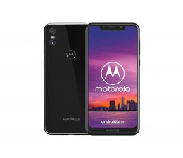 Motorola One 4/64GB Dual SIM czarny + etui (PAD40017PL / PAD40023PL (XT1941-4))
