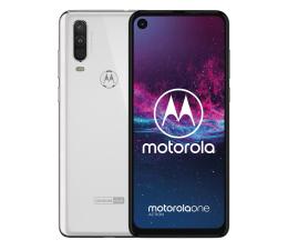 Motorola One Action 4/128GB Dual SIM biały + etui (PAFY0006PL (XT2013))