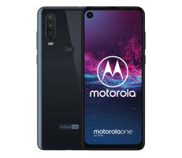 Motorola One Action 4/128GB Dual SIM granatowy + etui (PAFY0005PL (XT2013))