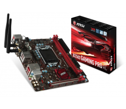 MSI B250I GAMING PRO AC (3xPCI-E DDR4 USB3.1/M.2)