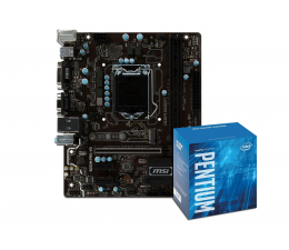 MSI B250M PRO-VD + Intel G4600