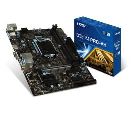 MSI B250M PRO-VH (3xPCI-E DDR4 USB3.1/M.2)