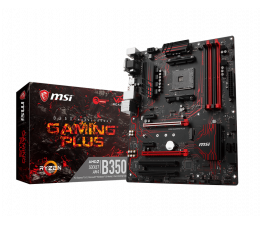 MSI B350 GAMING PLUS (2xPCI-E DDR4 USB 3.1/M.2)