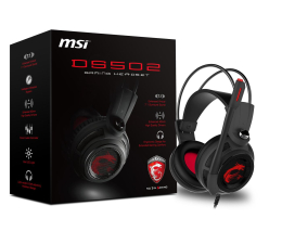MSI DS502 GAMING Headset (S37-2100910-SV1)