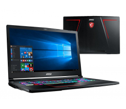 MSI GE73 i7-7700HQ/8GB/1TB+128/Win10 GTX1050Ti 120Hz (Raider | GE73 7RD-026PL)