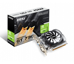 MSI GeForce GT730 OC V1 2GB GDDR3 (N730K-2GD3/OCV1)