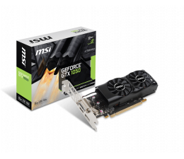 MSI GeForce GTX 1050 Low Profile 2GB GDDR5 (GTX 1050 2GT LP)