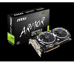 MSI GeForce GTX 1060 ARMOR OC V1 6GB GDDR5 (GTX 1060 ARMOR 6G OCV1)