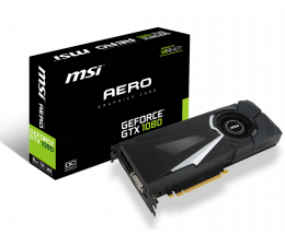 MSI GeForce GTX 1080 AERO 8G OC (GeForce GTX 1080 AERO 8G OC)