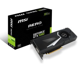 MSI GeForce GTX 1080 AERO 8GB GDDR5X (GeForce GTX 1080 AERO 8G OC)